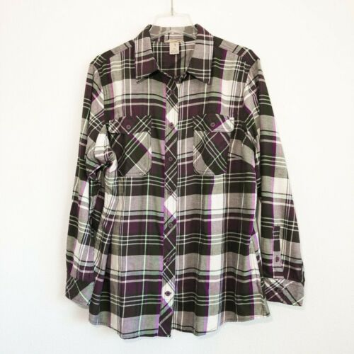 Duluth Women's Plaid Crosscut Wicking Button Front