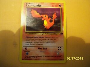 1ST EDITION TEAM ROCKET Complete Common NM// 1st Edition Charmander