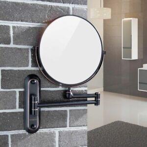 Gurun Bathroom Hotel Makeup Mirror Wall Mounted 5x