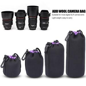 Soft-Neoprene-DSLR-Camera-Lens-Pouch-Protective-Bag-Case-For-Digital-SLR-Camera