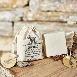 Goat-039-s-Milk-Goat-Milk-Olive-Oil-Natural-Handmade-Soap-2-x-150g-Soaps