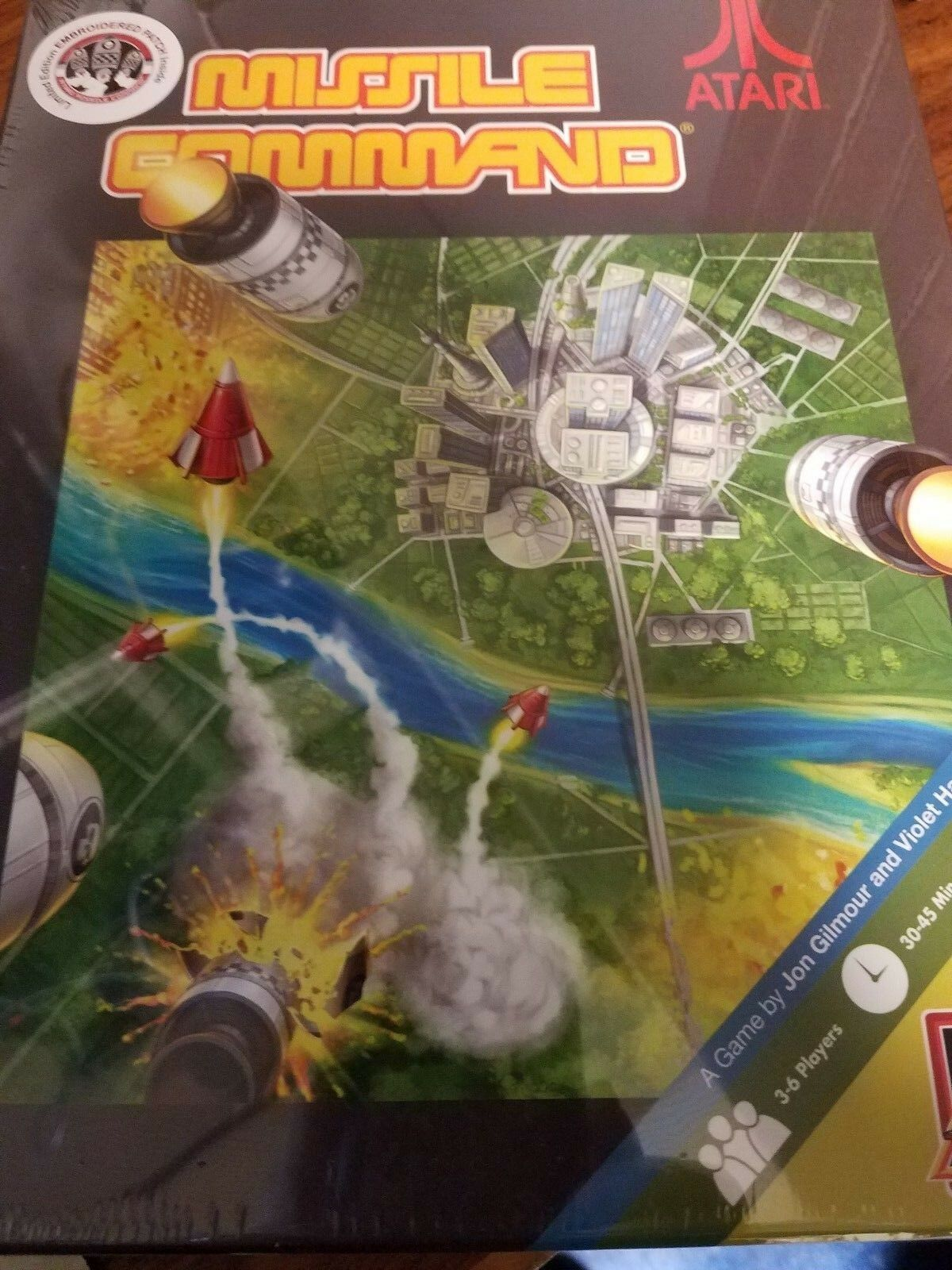 Missile Command - Board Game Limited Edition IDW Games New