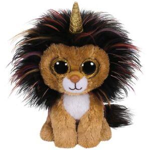 Discipliné Ty Beanie Boos Lion Avec Corne-ramsey - 15 Cm + Cadeau Sac-en Fr-fr Afficher Le Titre D'origine SuppléMent éNergie Vitale Et Nourrir Yin