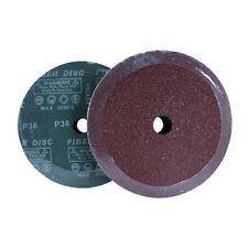 "25 Mibro 5/"" Resin Fiber Sanding Discs 24 Grit 984260"