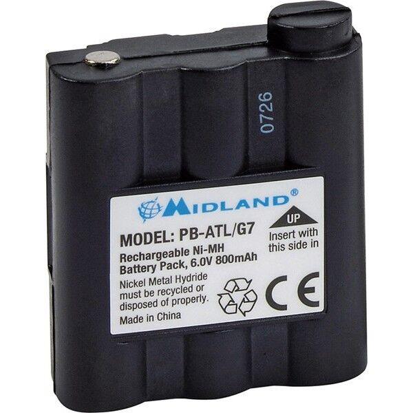 BATERIA ORIGINAL MIDLAND DE 800MAH PB-ATL/G7 BATT5R PARA G7 GXT1050 GXT1000 900