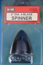 DU-BRO 542 Spinner 2 inch 3-Blade Black