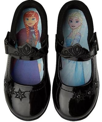 Girls Black Disney Frozen Light Up