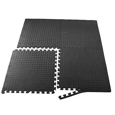 New 24 Sq Ft Interlocking Eva Foam Floor Mat Puzzle Tiles