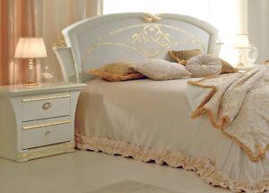 Italienisches Schlafzimmer Set Gocce di Luce Hochglanz Möbel aus ...