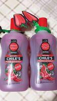 2 Pack Shampoo Chile's Romero Espinosilla 500 Ml 16.9 Fl Oz (2 Bottles Of 500)