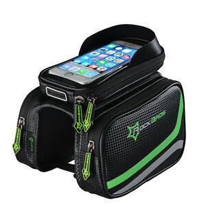 RockBros-Bicycle-Frame-Bag-Pannier-Tube-Bag-Touchscreen-Bike-Phone-Holder-Bag