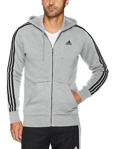 sneakers for cheap b3265 edc11 Image is loading adidas-Men-039-s-Essentials-3-Stripe-Full-