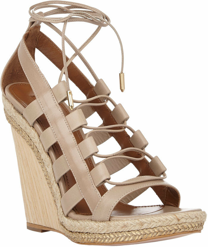 SANDAL zapatos 5 PUMPS 35 AQUAZZURA WEGDE AMAZON BEIGE WOMAN 35RLcq4jA