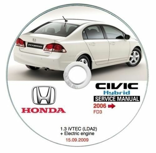 manuale officina workshop manual Honda Civic Hybrid MY 2006--/>