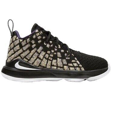 enchufe Aprendizaje Contratado  Nike LeBron XVII 17 Lakers PS Preschool Kids Basketball Shoes BQ5595-004  2.5Y 193655098802 | eBay