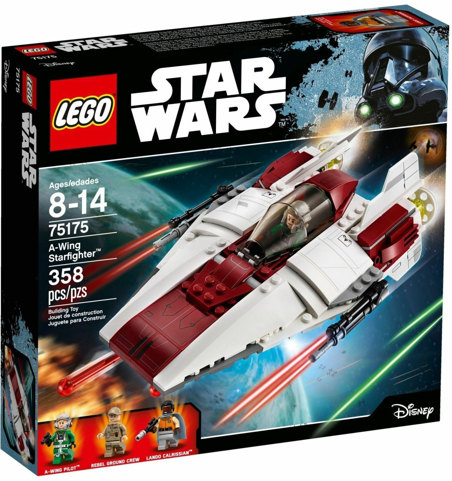 Lego 75175 STAR WARS -  A-Wing Starfighter  - NUOVO