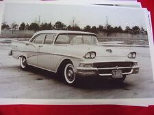 1958 FORD FAIRLANE 500 SEDAN    BIG 11 X 17  PHOTO /  PICTURE