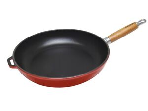 NEW Chasseur Round Frypan 28cm - Federation Red