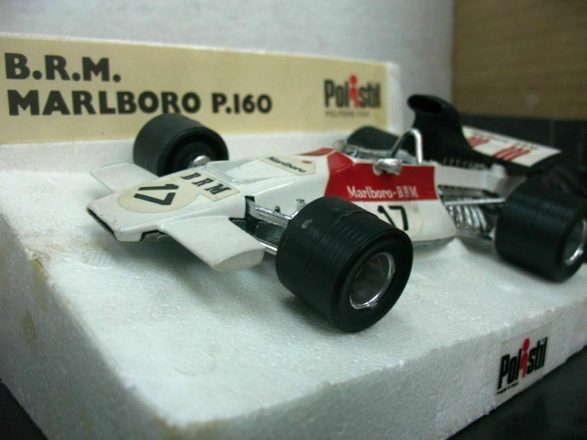 Wow extrêmement rare BRM P160B  17 Beltoise Winner Monaco 1972 1 24 poistil-PMA