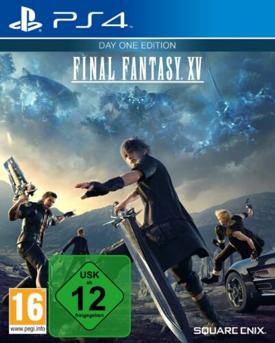 Final Fantasy 15 XV Day One Inkl. DLC - PS4 Playstation 4 - NEU OVP