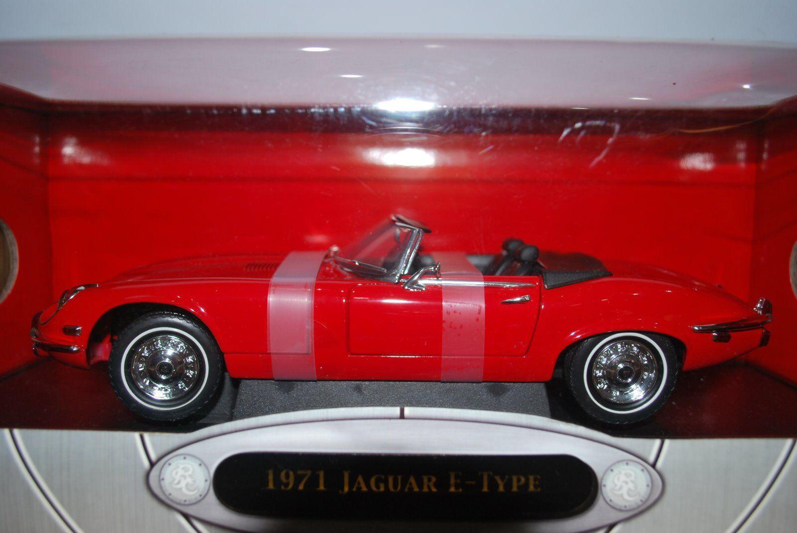 Escala 1 18 Jaguar E Tipo V12 converdeible por Road Signature Collection