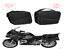 PANNIER-LINER-BAGS-INNER-BAGS-TO-FIT-BMW-R1200RT-LC-NEW-PANNIERS Indexbild 2