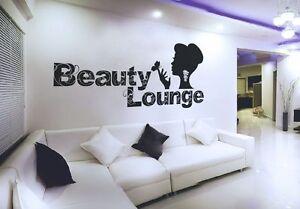 Beauty-Lounge-Wandtattoo-Tueraufkleber-Frau-Schoenheit-Sticker-Salon-Bad-Tattoo
