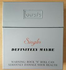 Oasis - Definitely Maybe Complete Single Box