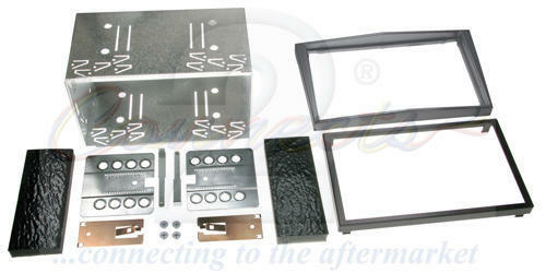 CONNECTS2 ASTRA H DOUBLE DIN FACIA KIT ANTHRACITE MET