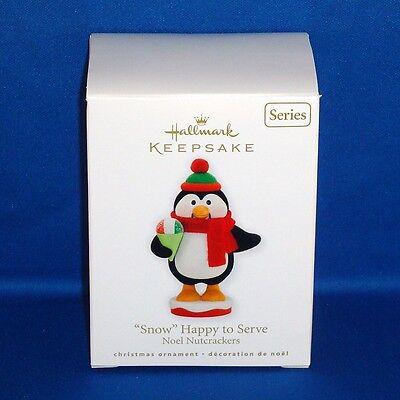 2010 Hallmark Keepsake Ornament Snow Happy To Serve Noel Nutcrackers #3