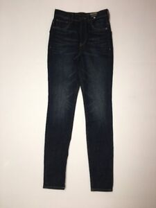 54879263b32 Details about Express Womens Jeans Legging 0 Inseam 30 Super High Rise  Button Fly NWT