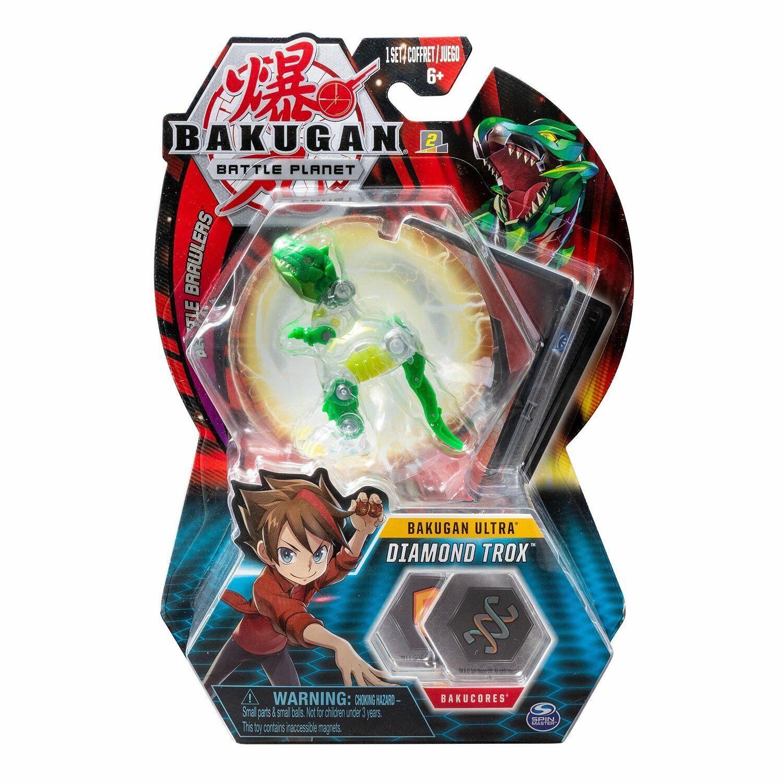 BAKUGAN Battle Planet ULTRA DIAMOND TROX Wave 3 Spin Master 2019 NEW RARE