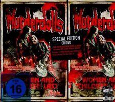 """MURDERDOLLS """"WOMEN AND CHILDREN LAST"""" CD+DVD NEW+"""