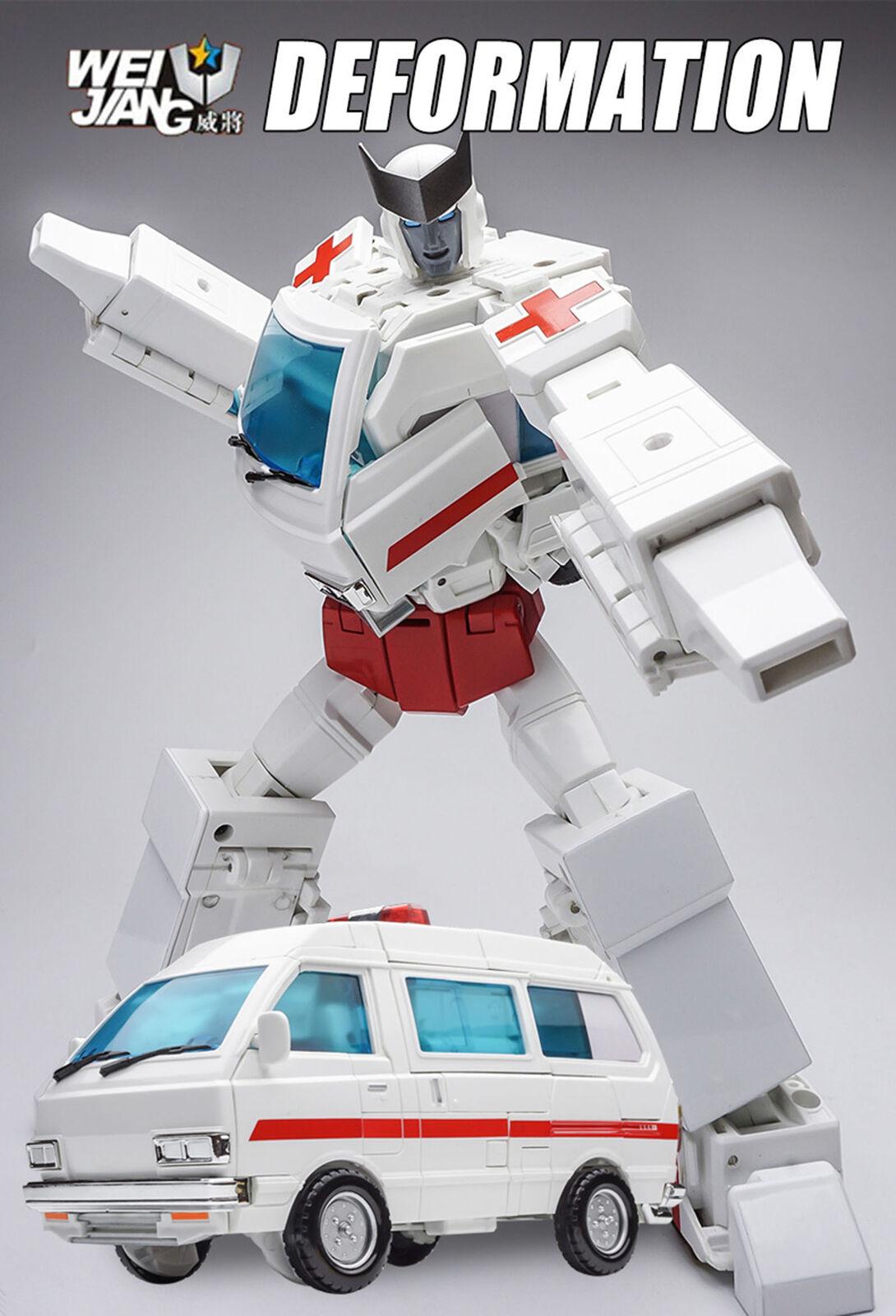Transformers WJ WEIJIANG MPP30 Robot Force STEEL GUARD Collection Geschenk