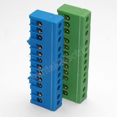 FTG Nullleiter-/Schutzleiter-/Sammelklemme isoliert 7-/12-/15-polig