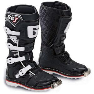 qualità codici promozionali ultimo sconto Ragazzi Bambini Gaerne Sg-J Motocross Enduro MX Stivali Nero ...