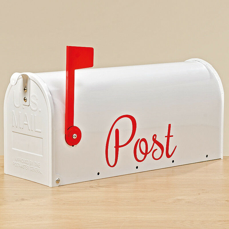 US Mail Box Amerikanischer Briefkasten weiß (1006975)