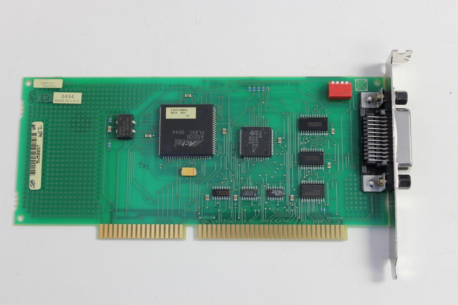 HP E2072-66502 ISA HP-IB INTERFACE ADAPTER E2072/82340 WITH WARRANTY