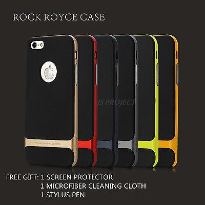 "Authentic OEM Rock Royce Slim TPU PC Hybrid Case For iPhone 6 4.7"" & 6 Plus 5.5"""