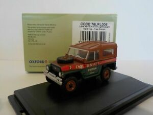 Land-Rover-Fred-Dibnah-Oxford-Diecast-1-76-New-Dublo-Railway-Scale