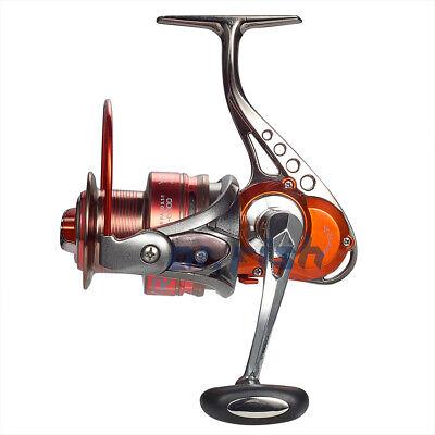 Dr.Fish Fishing Reel Spinning Aluminum Built Ultralight Saltwater Freshwater Red