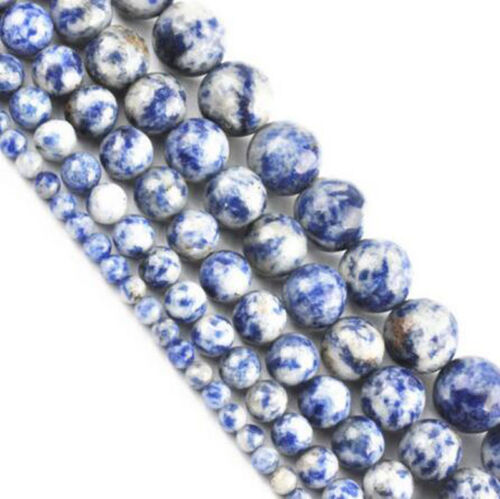 Wholesale 15 inch Natural Gemstone Round Spacer Loose Bead 4MM 6MM 8MM 10MM 12MM