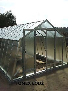 Stahl Gewachshaus 3x3m 9m2 Metall Glas Treibhaus Ebay