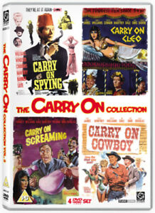 Carry-On-Volume-3-DVD-2008-Kenneth-Williams-Thomas-DIR-cert-PG-4-discs