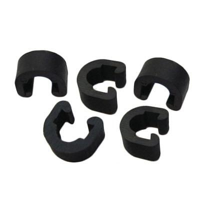 5 Pcs//pack Bike Bicycle MTB C Clips Buckle Hose Brake Gear Cable Housing Guide
