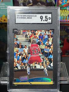 1997-98 Topps Michael Jordan Stadium Club #118 SGC 9.5 PSA 10?