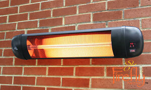 Charmant Image Is Loading Firefly 2kW Electric Patio Heater Infrared Wall Outdoor
