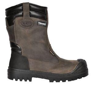 Rigger de trabajo Brown Cofra Leather Mediasuela de Thinsulate Baranof seguridad Toecap wzqaOxq