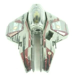 2004-Hasbro-Star-Wars-Obi-Wan-Kenobi-Jedi-Starfighter-Ship-Lucasfilms
