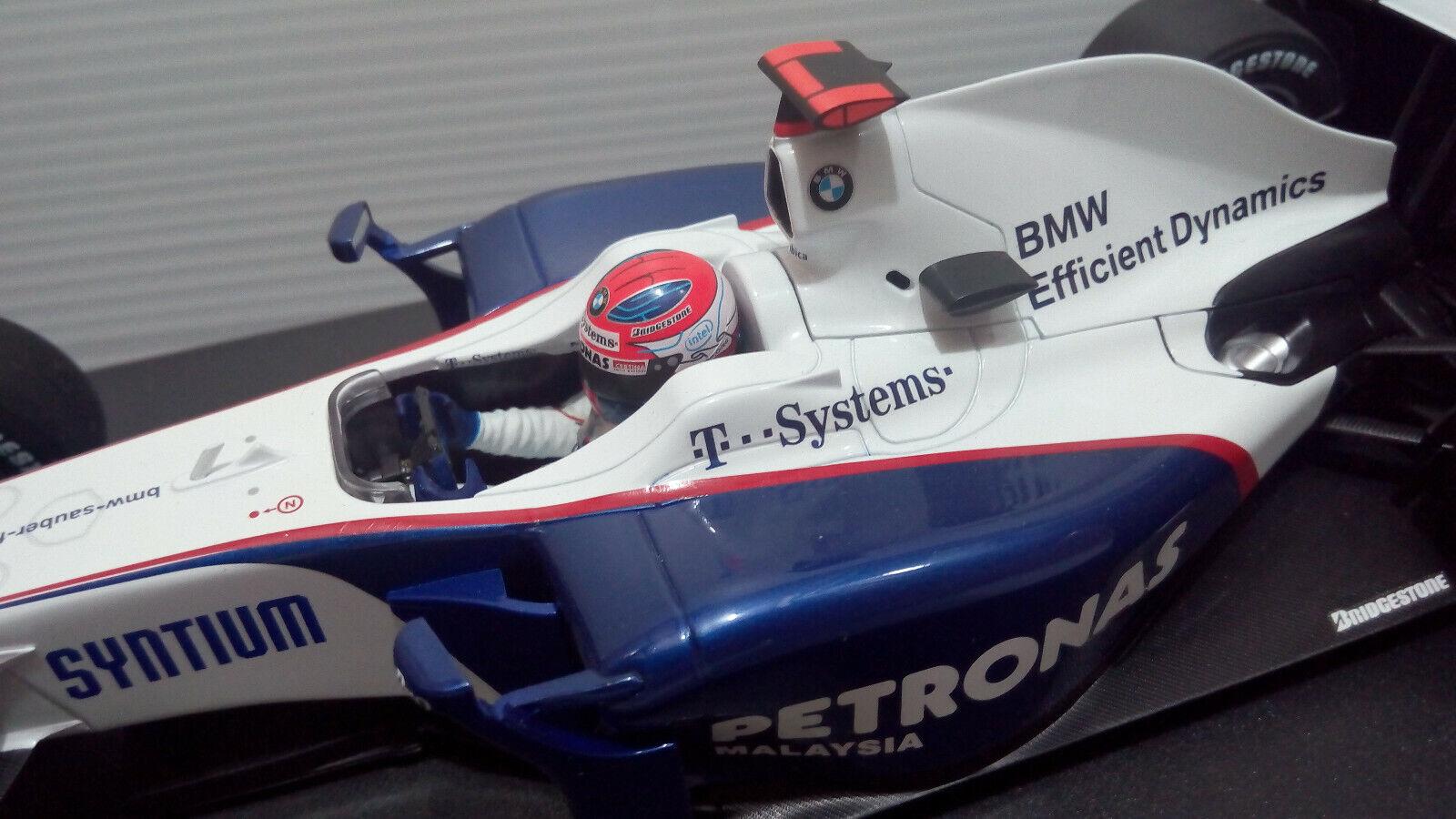 1 18 Sauber BMW F1.09 09 2009  AUSTRALIAN GP Robert Kubica - MINICHAMPS  bon shopping